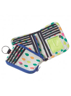 ZIPPY WALLET SPRING DOTS
